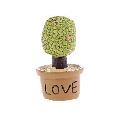Miniatura Giardino Fata Micro Paesaggio Casa Delle Bambole Figurina Arredamento Bonsai # 4