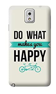 The Fappy Store Happy plastic Back Cover For Samsung note 3