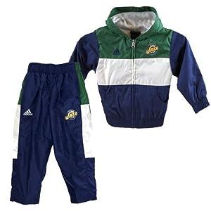 Utah Jazz NBA Toddler Full Zip Hood And Pant Set 3T by Genuine Stuff