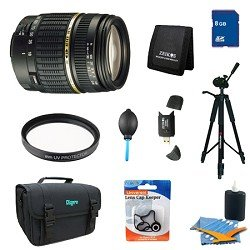 Tamron 18-200mm F/3.5-6.3 AF DI-II LD IF Lens Pro Kit For Canon EOS