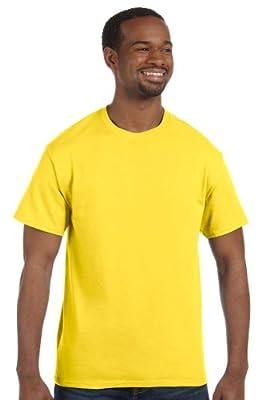 Hanes - 6 oz. Tagless T-Shirt >> 2XL,YELLOW