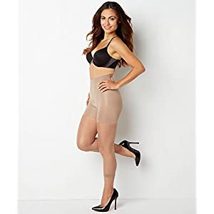 SPANX In-Power Line Footless Pantyhose Hosiery Nude Size B