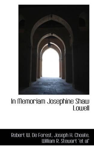 In Memoriam Josephine Shaw Lowell