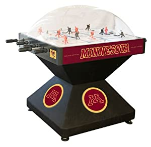 Minnesota Golden Gophers Dome Bubble Hockey by Holland Bar Stool
