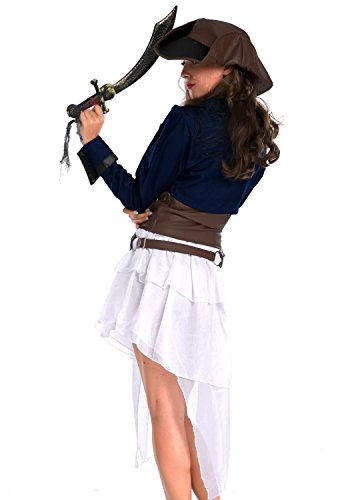 Toprate®Colonial Pirate Women Costume