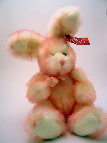 "Russ 14"" Glitters Galore Ruffles the Rabbit Plush"