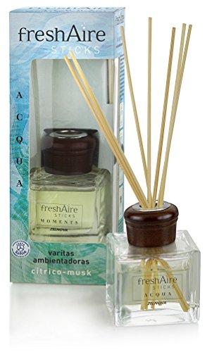 Fresh Aire Sticks Acqua Deodorante per Ambienti, Citrico Musk - 65 ml