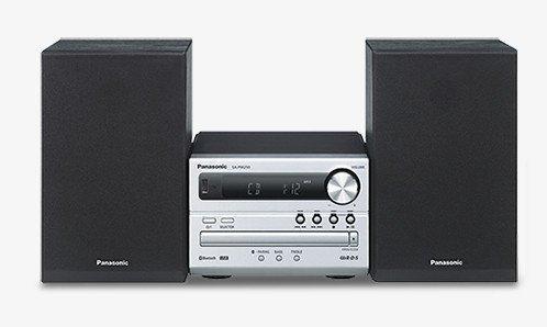 Panasonic-Stereo-Micro-SC-PM250-EG-S-Sistema-Hi-Fi-Argento