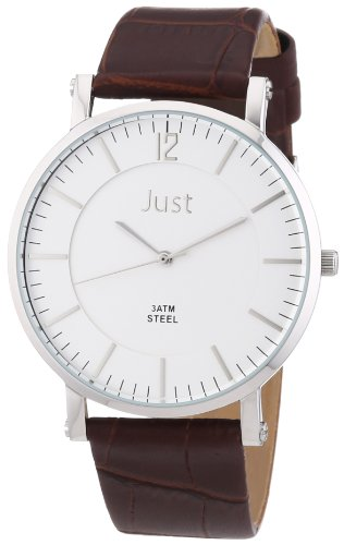 Just Watches 48-S9295A-SL-BR - Orologio uomo