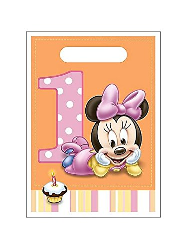 Disney Minnie Mouse 1st Birthday Treat Sacks