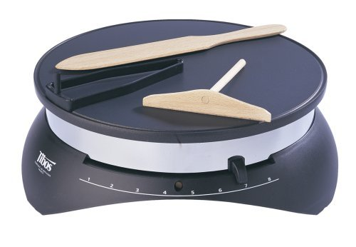 Crepe Maker with Wooden Turner & Non-Stick 13