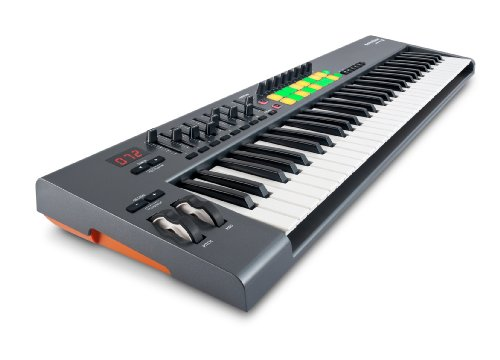 Novation Launchkey 61, 61-Key Usb/Ios Midi Keyboard Controller With Synth-Weighted Keys