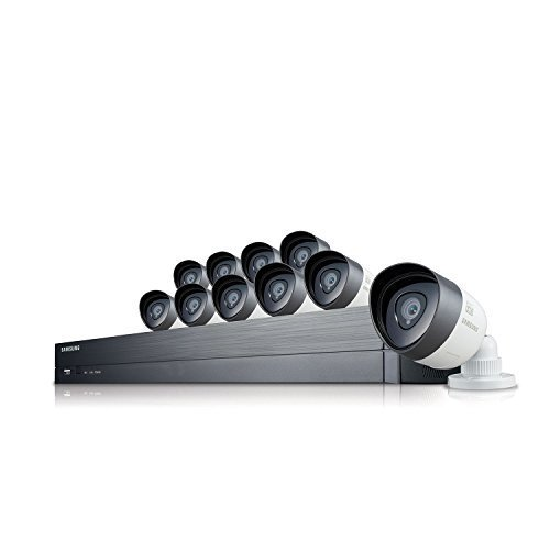 SDH-C75100 – Samsung 16 Channel 1080p HD 2TB Security System with 10 Cameras
