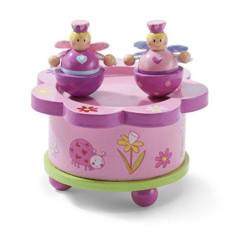 Boîte à musique en bois - Fée Rose - Boîte à musique pour enfant - Lucy Locket