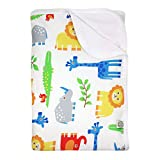 Imse Vimse Jungle Print Baby Blanket ORGANIC! [Health and Beauty]