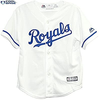 Kansas City Royals MLB Toddler Cool Base Team Home Jersey White