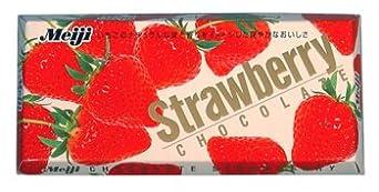 Meiji - Strawberry Chocolate Bar 1.7 Oz.