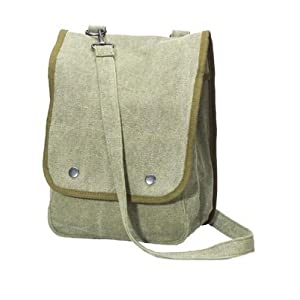 Map Case Shoulder Bag – Black or Olive Drab By Rothco