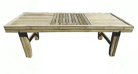 Mesa Mesa Mesa, bambú, Salón, Mesa de jardín, mesa de madera