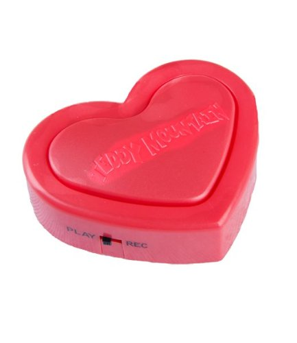 "Red ""Love Heart Recordable"" 18 Second Recordable Sound Module for Stuffed Animal Insert, Craft Projects and Scentsy Buddies"