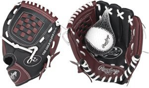 Buy Rawlings T-Ball Youth 9 Baseball Glove with Soft-Core Training Tee Ball. Boys &... by Rawlings Authentic Sports Shop