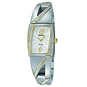 Seiko Women's SUP246 Analog Display Japanese Quartz Two Tone Watch