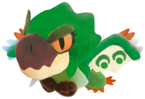 Capcom Monster Hunter Plush Doll 2D 8