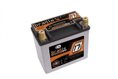 Braille Battery B2317RP Lightweight Racing Battery