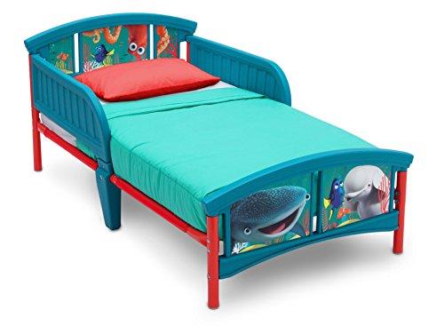 Delta Children Plastic Toddler Bed, Disney/Pixar Finding Dory Blossom Bath Collection