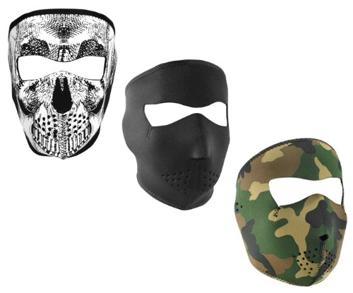 ZANheadgear Skull Neoprene Face Mask