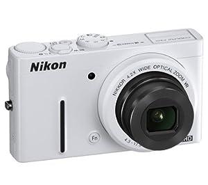NIKON P310 - white Plus Compact Camera Case Plus 8 GB SDHC Memory Card