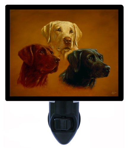 Dog Night Light - Lab Portraits - Labrador Retriever