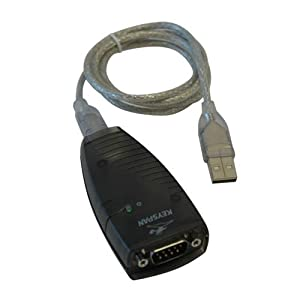 Keyspan by Tripp Lite USA-19HS Hi-Speed USB Serial Adapter, PC, MAC, supports Cisco Break Sequence by KeySpan
