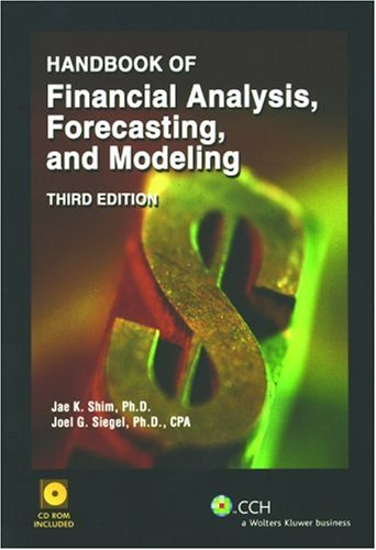 Handbook of Financial Analysis, Forecasting and Modeling [With CDROM], Buch