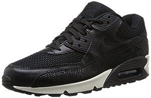 Nike Air Max 90 Stingray, Men's Training Running Shoes, Black (Black/Black/Black/Sea Glass 001), 9 UK (44 EU)