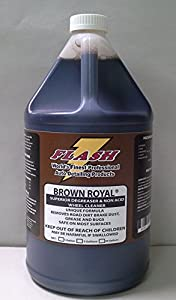 Flash Brown Royal Non-acid Wheel Cleaner Concentrate BR128 from Flash Auto Detailing Products Inc.