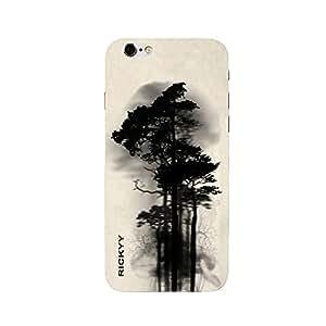 RICKYY _ip6S_1026 Printed matte designer Big Tree case for Apple iPhone 6s