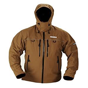 FRABILL FXE Stormsuit Jacket, Terra, Small (7140) by Frabill