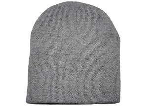 Unisex Men Women Solid Color Warm Plain Acrylic Knit Ski Beanie Skull Hat