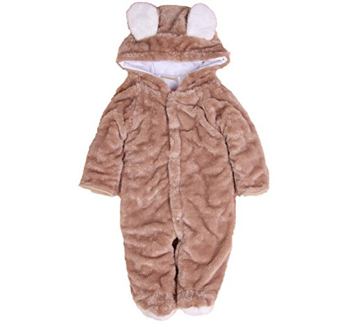 ETSYG Warm Baby Suit Infant Jumpsuit