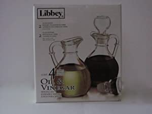 Libbey Oil and Vinegar Serving Set by Libbey
