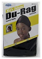 Dream Du-Rag Kid's Black #51 (Pack of 24)