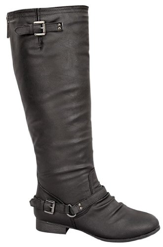 Top Moda Women's COCO Knee High Riding Boot