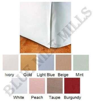 Egyptian Cotton Bed Skirt 300Tc Solid front-385561