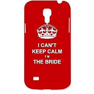 Skin4gadgets I CAN'T KEEP CALM I'm THE BRIDE - Colour - Red Phone Designer CASE for SAMSUNG GALAXY S4 MINI (I9190,I91192)