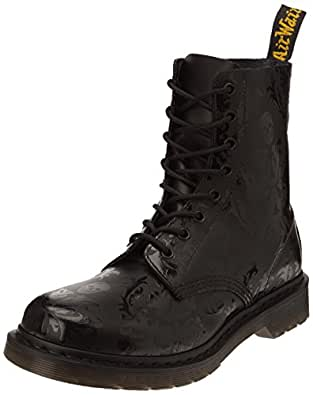 Dr. Martens Cassidy, Boots femme - Noir (Black Softy Hi Shine Print), 36 EU (3 UK)