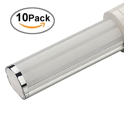 10 Pkg. Of Ledi2 Lighting Led Plc Lamps 4-Pin G24Q Base Bulb 5W Equivalent 13W 4000K(Natural White), 30,000Hrs, Design For 6'' Recesses Cans