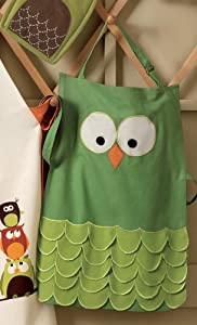 Hoot Owl Adult & Child Apron - Child Apron
