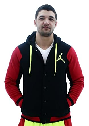 Jordan Air Nike Varsity Hooded Jacket Hoodie by Jordan