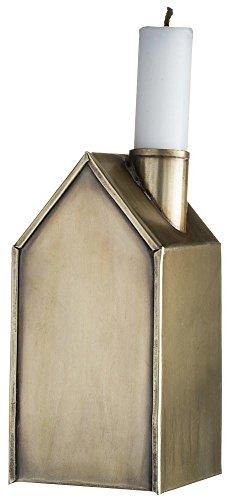 Madam Stoltz * Kerzenhaus, Kerzenständer, Kerzenhalter, Metall, Kupfer Antik-Look
